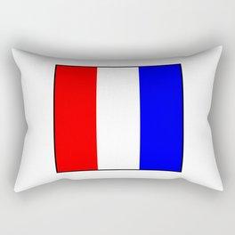 International maritime signal flag sea alphabet collection letter t Rectangular Pillow