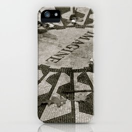 Strawberry Fields, Central Park, New York City, New York iPhone Case