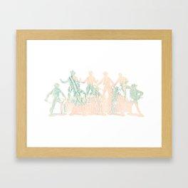 Oh My Stars Framed Art Print