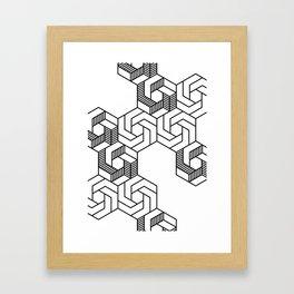 Hex 601 Framed Art Print