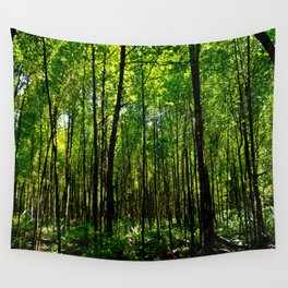 Green breeze Wall Tapestry