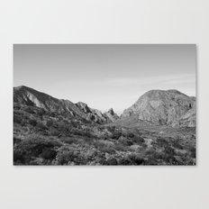 Big Bend,Texas Canvas Print