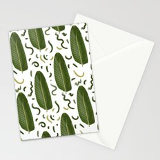Marching leaves Stationery Cards