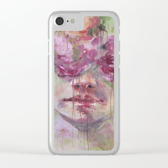 The Garden Inside Clear iPhone Case