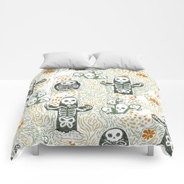 Skeleton Cacti Comforters