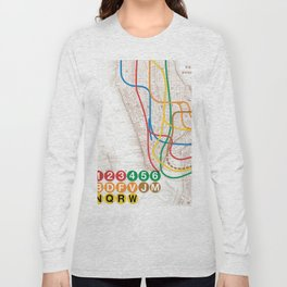 What the Future Awaits for New York I Long Sleeve T-shirt