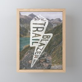 Trail Blazer Framed Mini Art Print