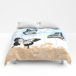 Butterflies print Comforters