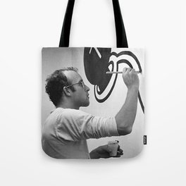 KEITH HARING PAINTING Tote Bag