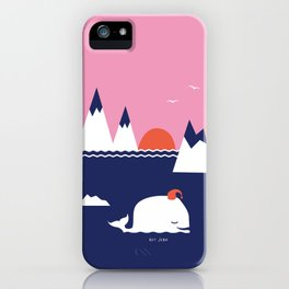 Little Whale iPhone Case