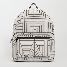LINE MANDALA Backpack