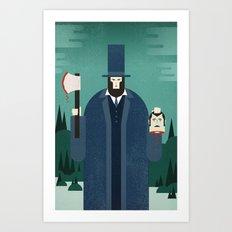 Vampire Hunter Art Print