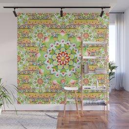 Fiesta Rainbow Mandala Wall Mural