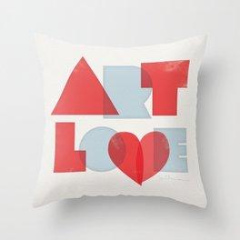 Art Love Throw Pillow