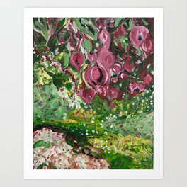 Out of the Garden Art Print
