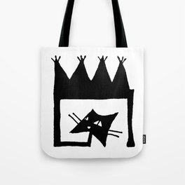 Square cat Tote Bag