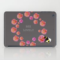 bee iPad Cases featuring Bee by Chelle Shaw