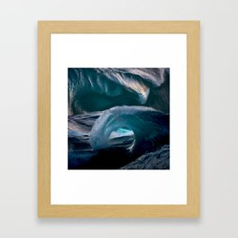 Stuck in the Sea Framed Art Print