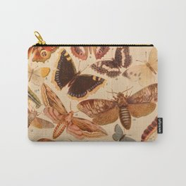 Vintage insects 1 Carry-All Pouch