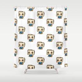 FOLDER FOLDER - JERSEY Shower Curtain