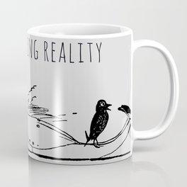 Shhh,  I'm escaping reality Coffee Mug