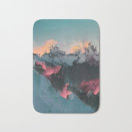 Glitched Landscapes Collection #1 Bath Mat