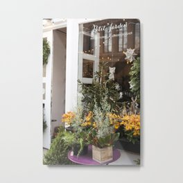 The Little Florist Shop Metal Print