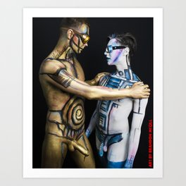 Is this the Droid you are looking for? Art Print