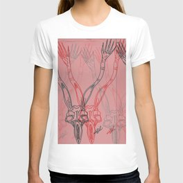 You Say That You Hear Me Only When I Touch You With My Hands PT.2 T-shirt