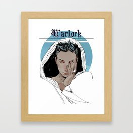 Warlock Framed Art Print