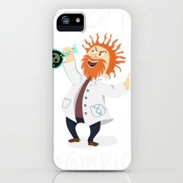 Science Fair Champion Mad Scientist iPhone Case