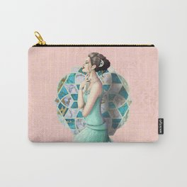 By the Stained Glass Carry-All Pouch
