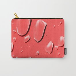 Raindrops knocking on my window Carry-All Pouch