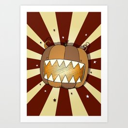 Pumpkin No.1 Art Print