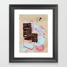 now or later 5 Framed Art Print
