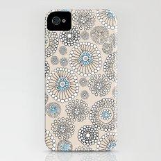 Flower bubble iPhone (4, 4s) Slim Case