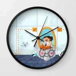 Cake Break Wall Clock