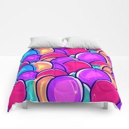 Easter Eggs pink Comforters