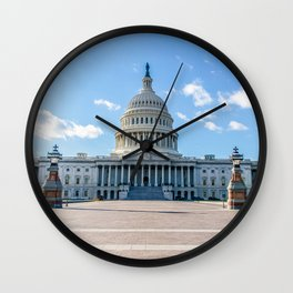 A Quiet Day Wall Clock