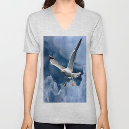 In the storm Unisex V-Neck