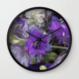 Summer Bloom Wall Clock