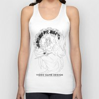 video game Tank Tops featuring Video Game Design by Verdant Winter
