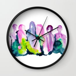 We Stand Together Wall Clock