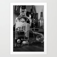 whiskey Art Prints featuring Whiskey by PattavinaPhotography