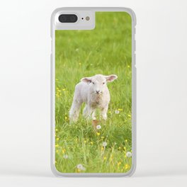 Little Lamb Clear iPhone Case