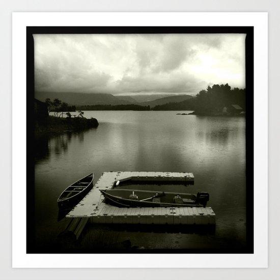 boats and no hoes Art Print