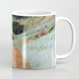 Poppy Field in a Hollow near Giverny by Claude Monet Coffee Mug