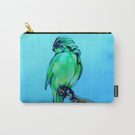 Kakariki - The NZ Red-Crowned Parakeet Carry-All Pouch