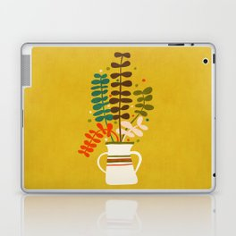 Potted Leaves Laptop & iPad Skin