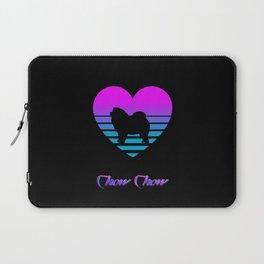 Chow Chow Love Cyberpunk Vaporwave Dog Puppy Gift Laptop Sleeve